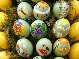 Maak je mooist geschilderde ei