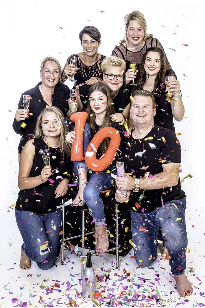 Shoeby viert tienjarig jubileum