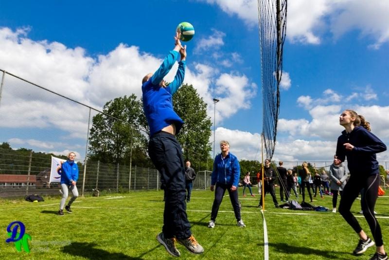 Buurtvolleybal toernooi Ugchelen een groot succes