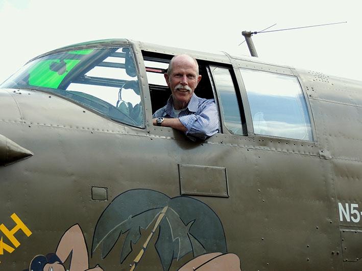 Luchtvaarthistoricus belicht bommenwerper