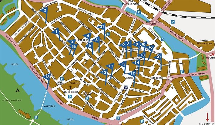 Puzzel mee in hartje Deventer