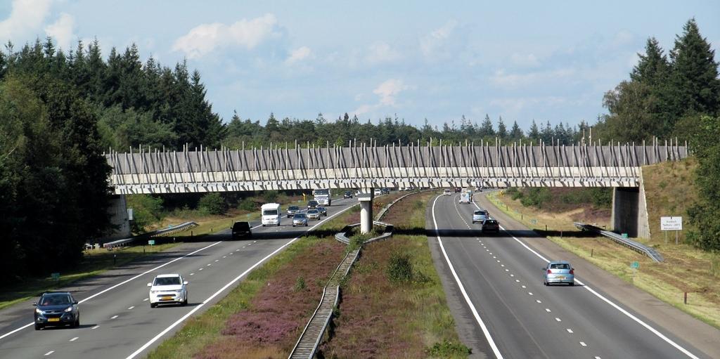Nieuwe tijdelijke verkeerssituatie A50 bij knooppunt Beekbergen