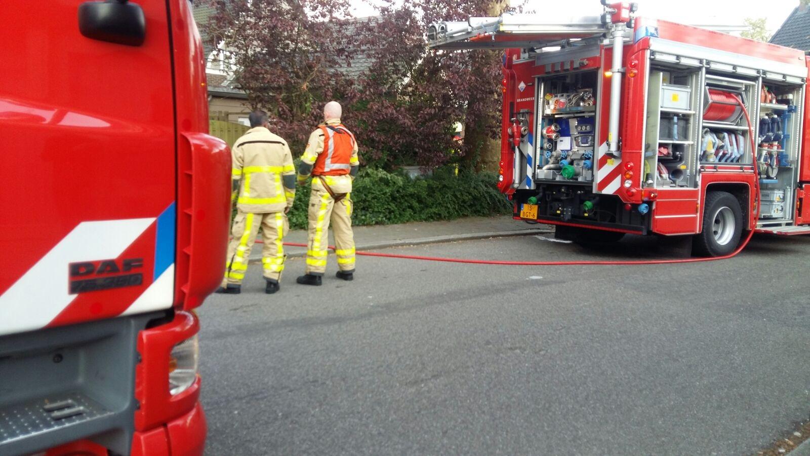 Korte brand in Afzuigkap