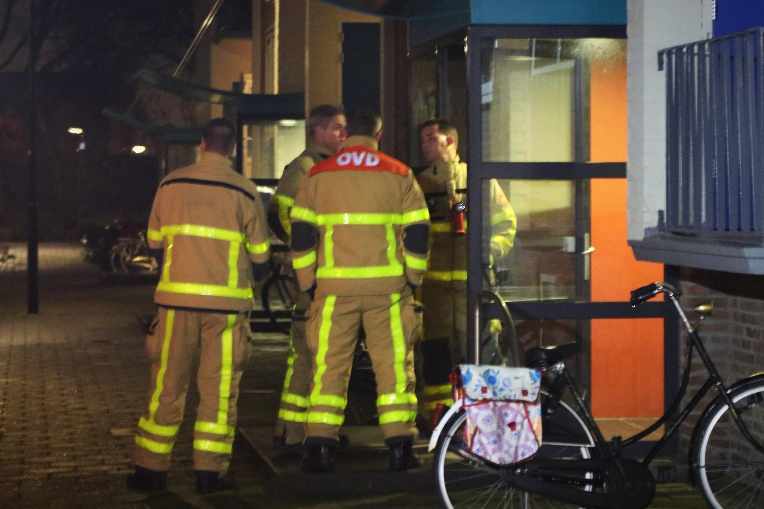 Benzinelucht zorgt voor uitruk brandweer