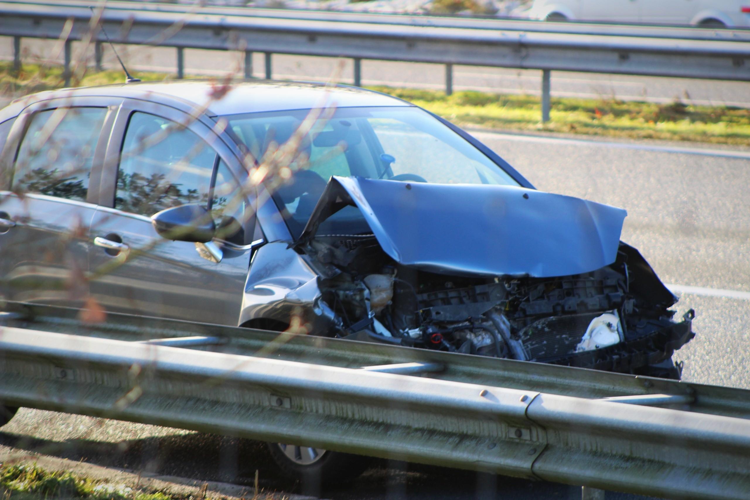 Meerdere ongevallen A50