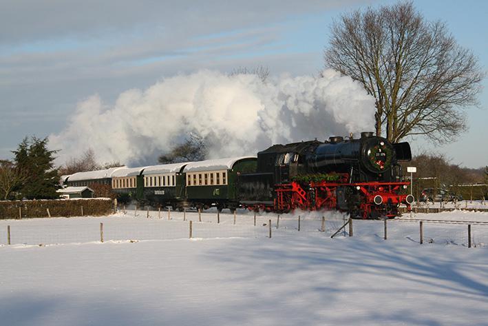 Stoomtrein VSM Glühwein-Express