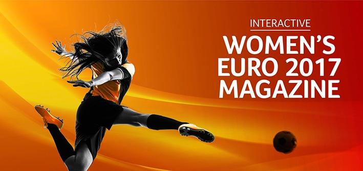 Uniek online voetbalmagazine over WEURO2017 met live-experience