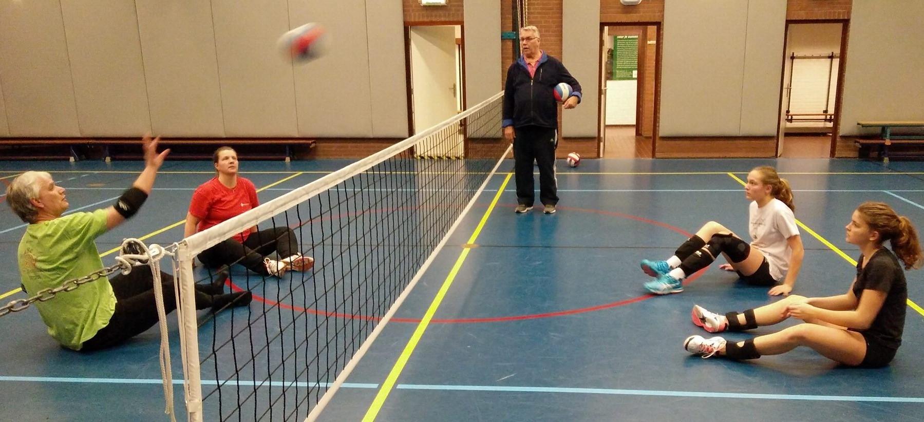 Clinic voor volleybaltrainers
