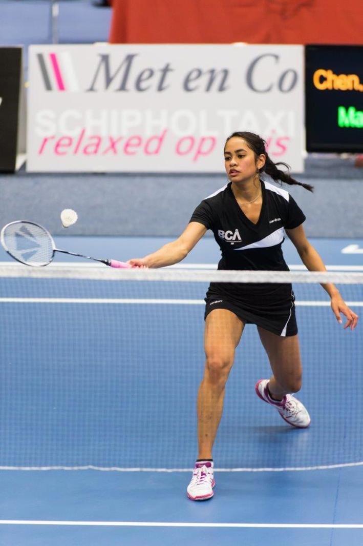 Nationale bekerfinale badminton in Epe