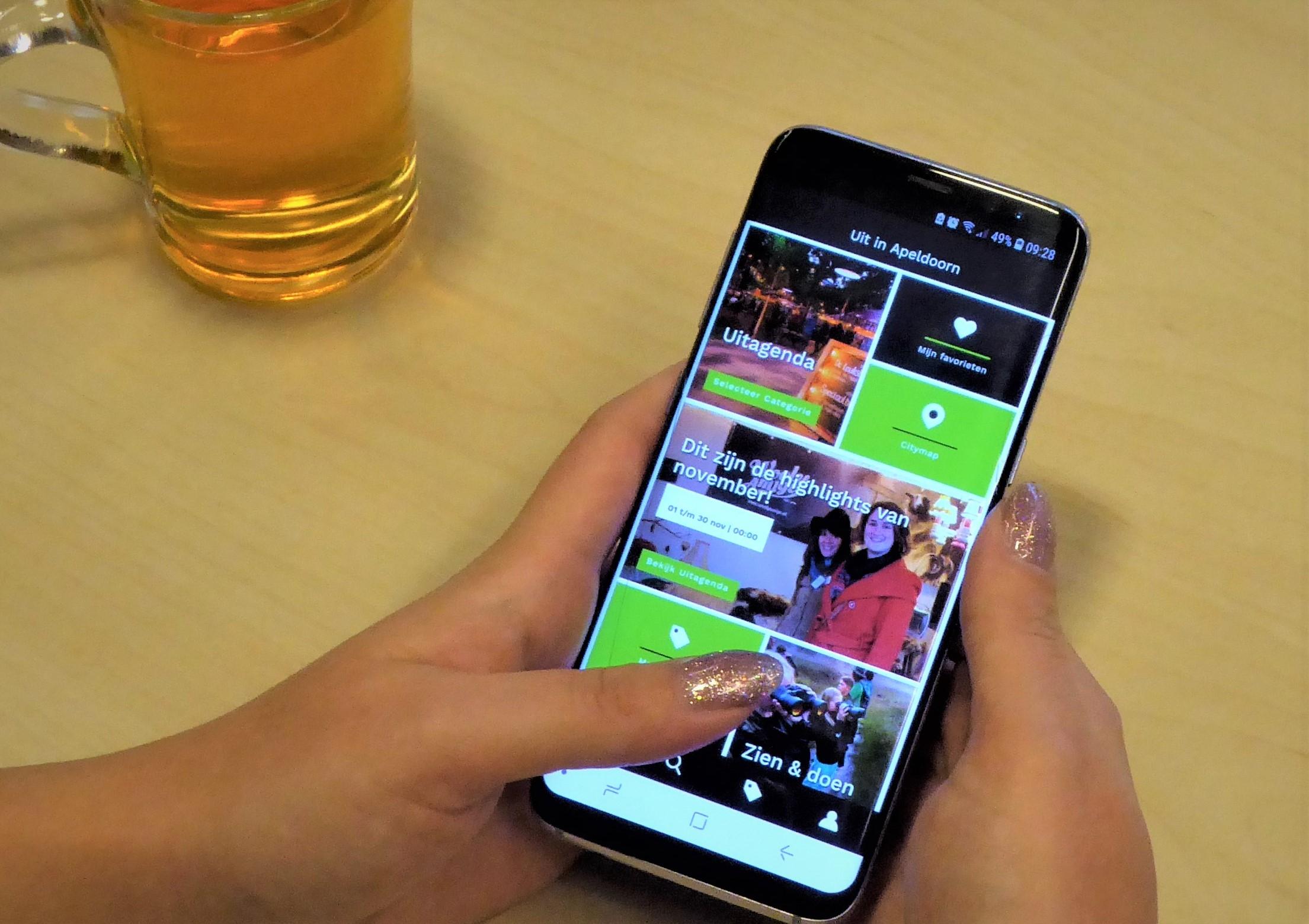 Nieuwe app 'Uit in Apeldoorn' biedt extra service voor inwoners en toeristen