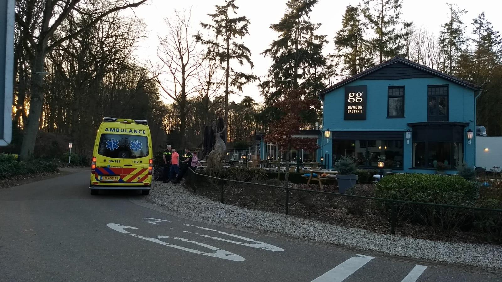 Fietser gewond bij aanrijding in Wenum Wiesel