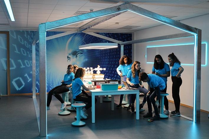 Medialab grote sprong vooruit in techniekonderwijs