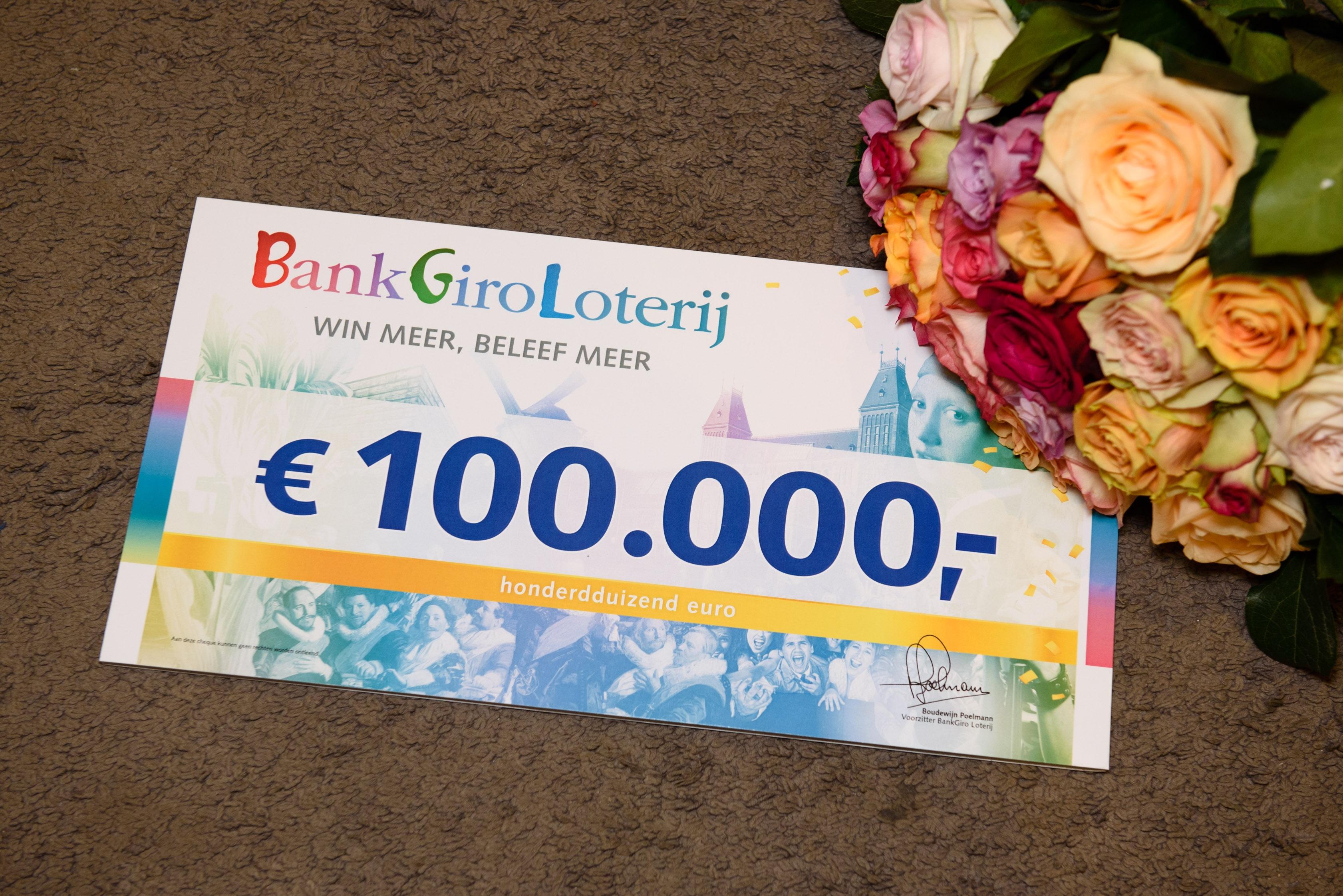 Bram uit Apeldoorn wint 100.000 euro bij BankGiro Loterij