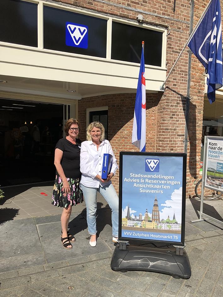 Toeristen weten de weg naar Zutphen
