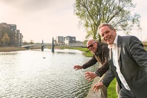 Swim to Fight Cancer uniek evenement  in Apeldoorns kanaal