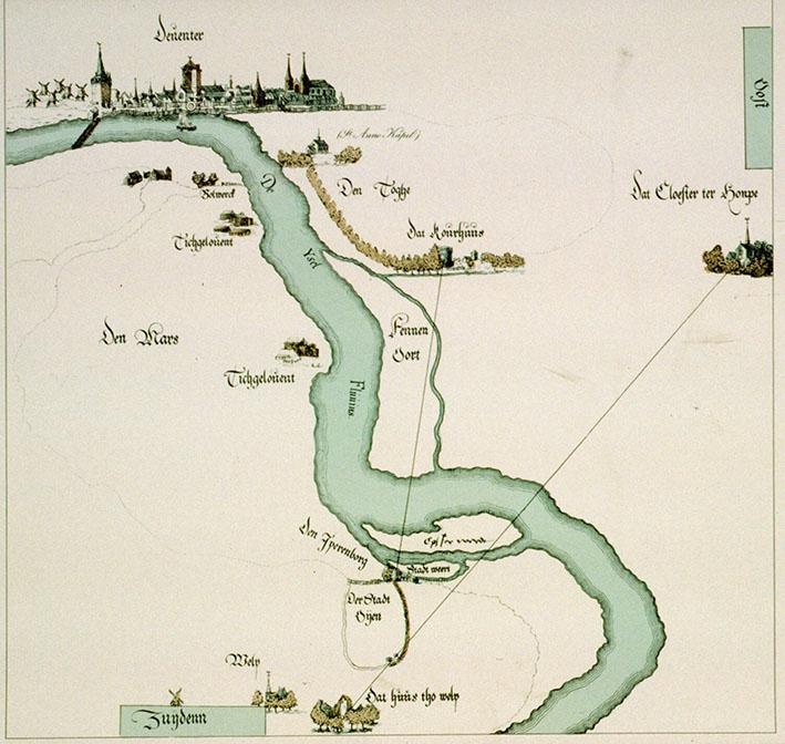 Lezing over Deventer enhet ontstaan van de IJssel