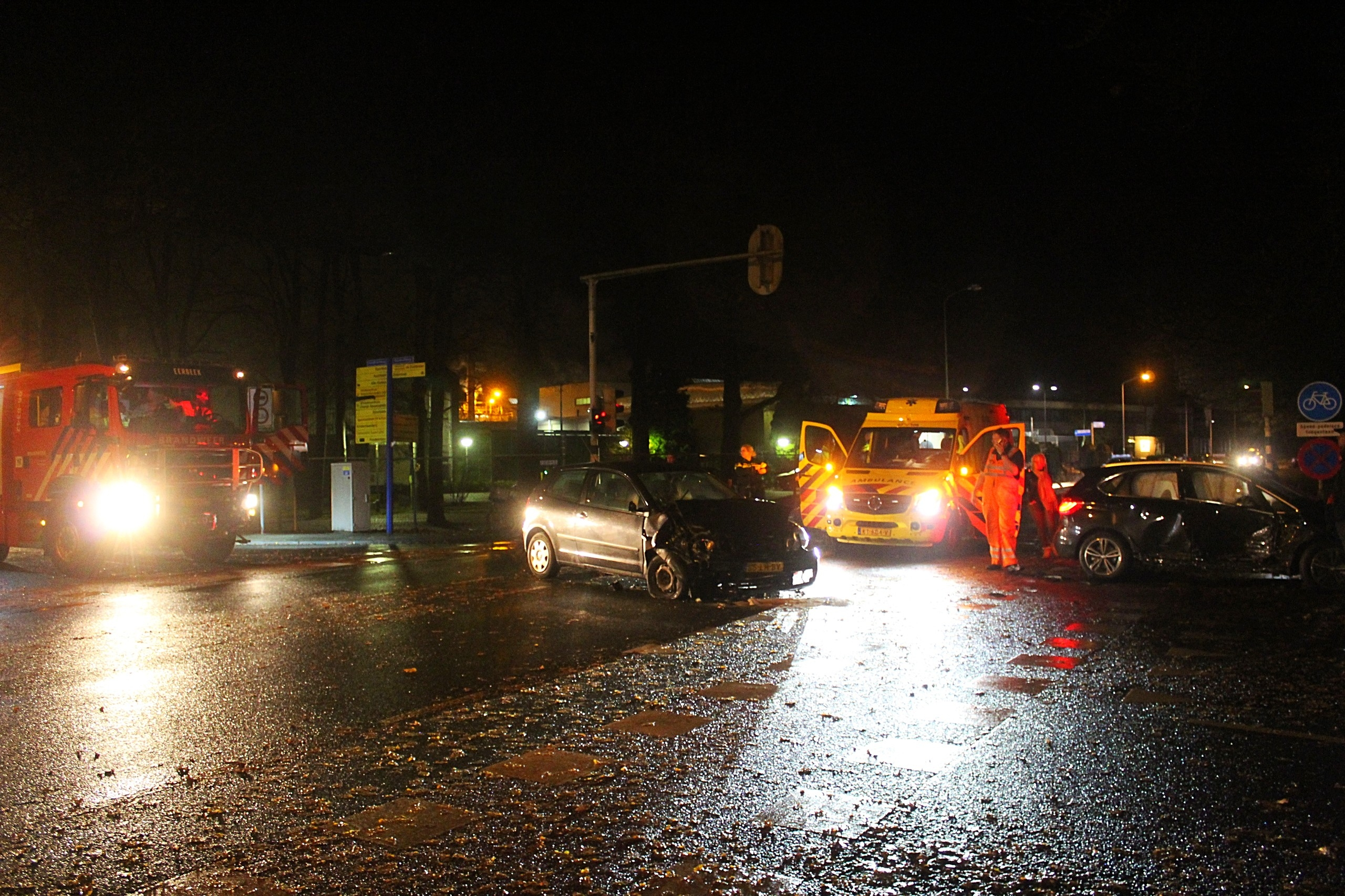 Automobiliste gewond bij ongeval