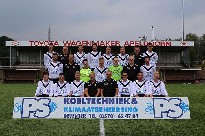 André Wassink met KCVO op titelkoers in de 'Bundesliga'