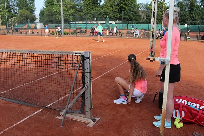 Ballenrapen voor de tennisprofs