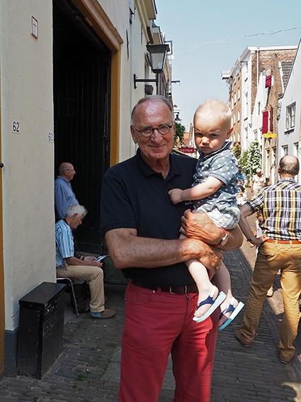 Viering bijzondere band grootouder en kleinkind