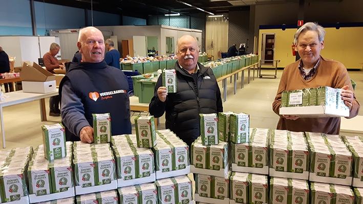Lionsclub zamelt weer koffiepunten in