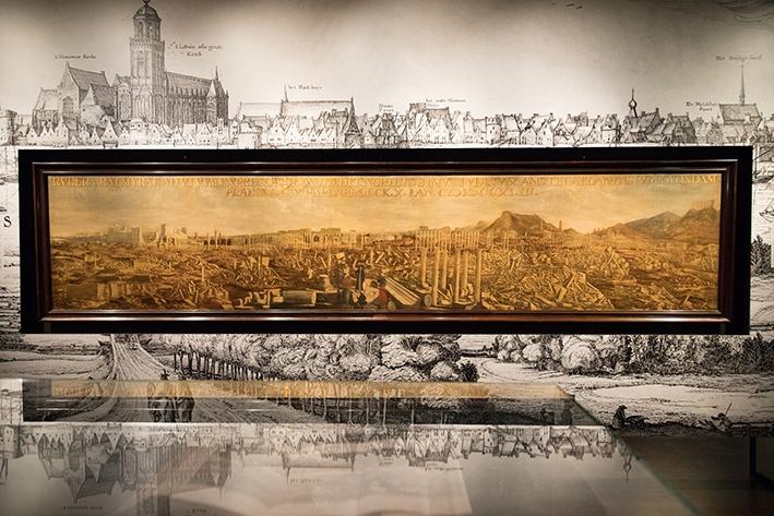 Palmyra-tentoonstellingnwegens succes verlengd