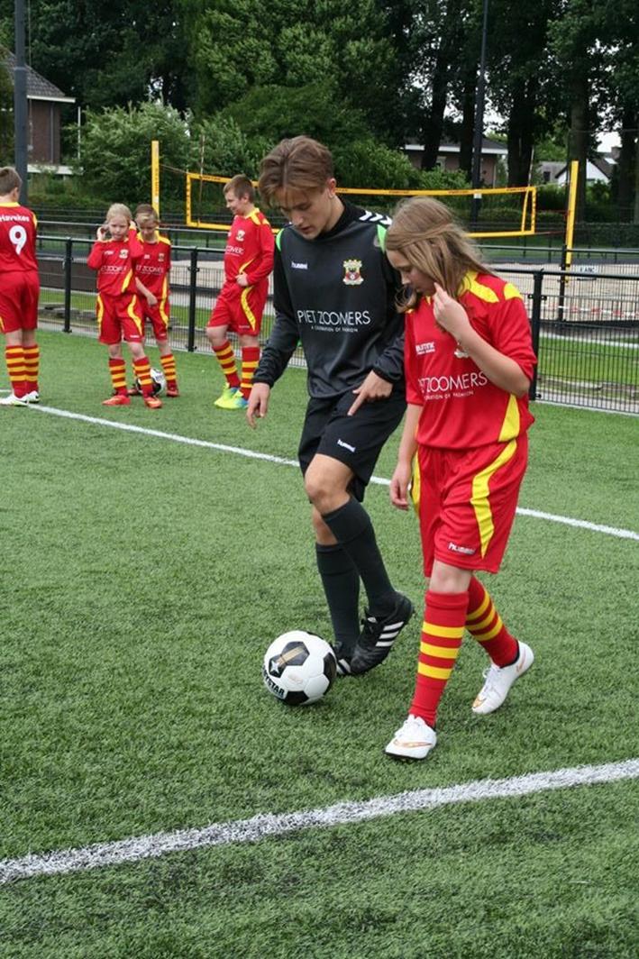 Trainingskamp met Go Ahead Eagles