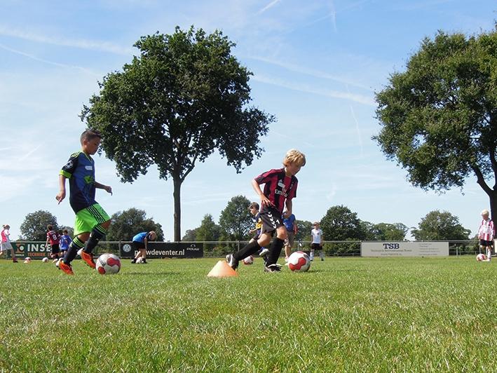 Voetbalclinic bij SV Epse