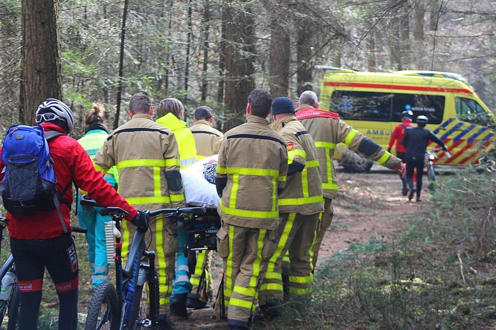 Mountainbiker gewond