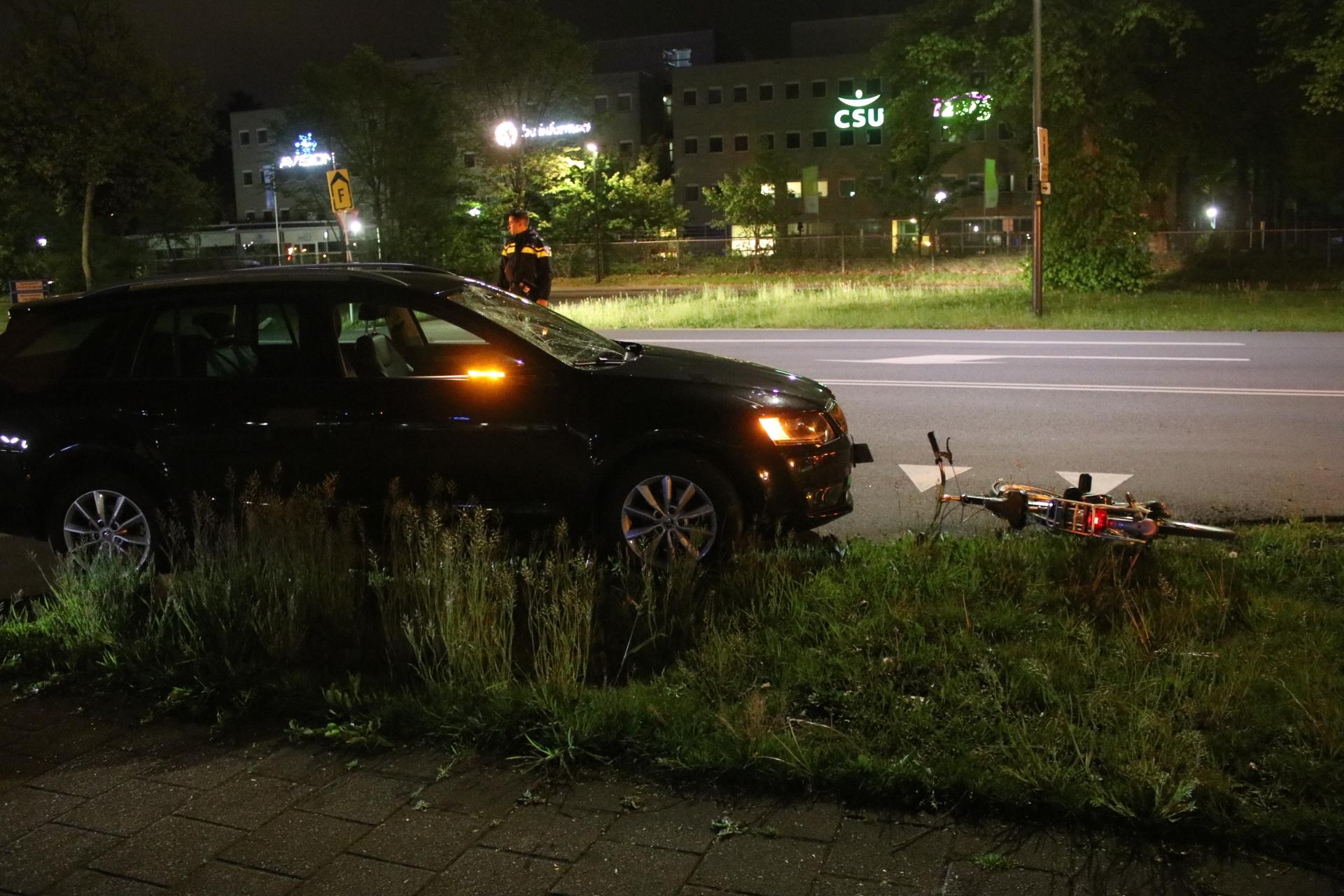 Fietser gewond na botsing in Apeldoorn