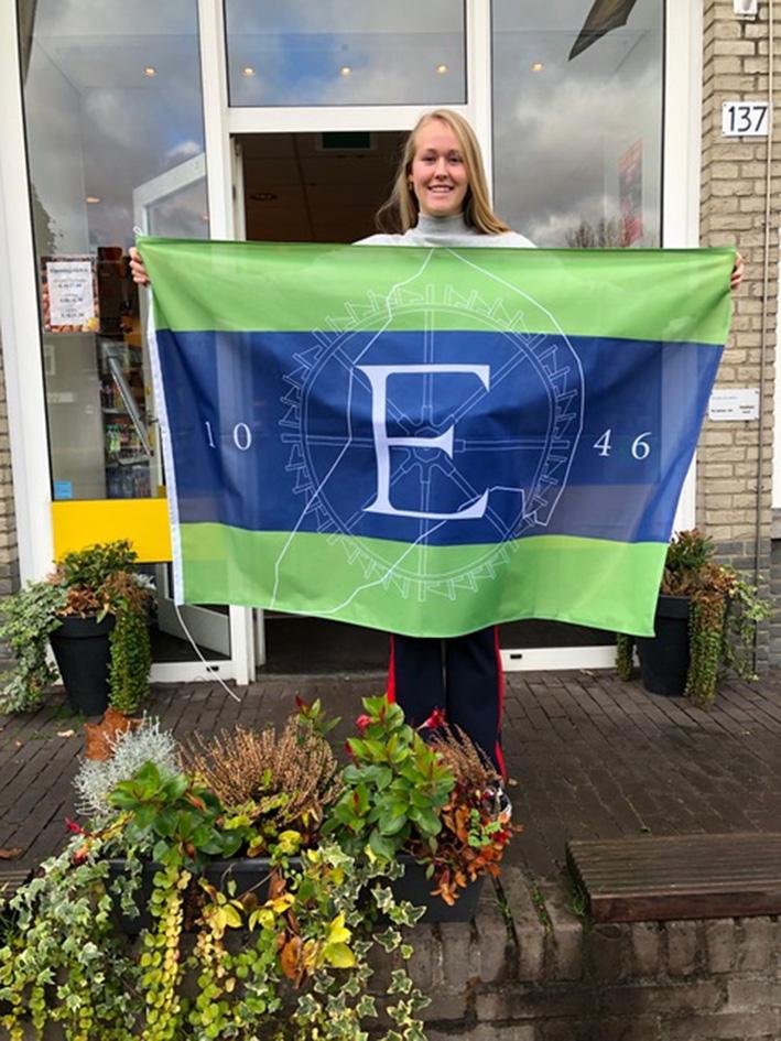 Eerbeek heeft nu eigen vlag