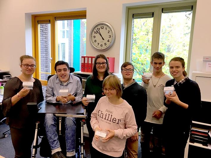 Studenten Parc Spelderholt zamelengeld in voor Serious Request 2017