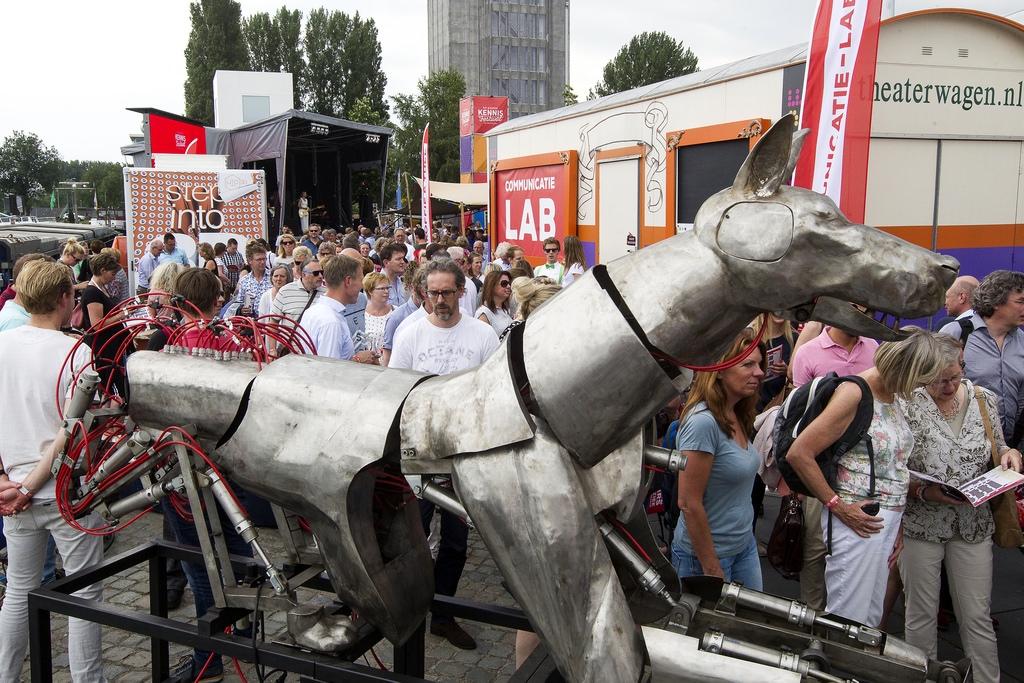 Saxion op Grootste Kennisfestival van Nederland