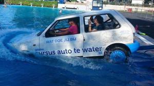 Cursus Auto te water bij Zwembad de Schaeck