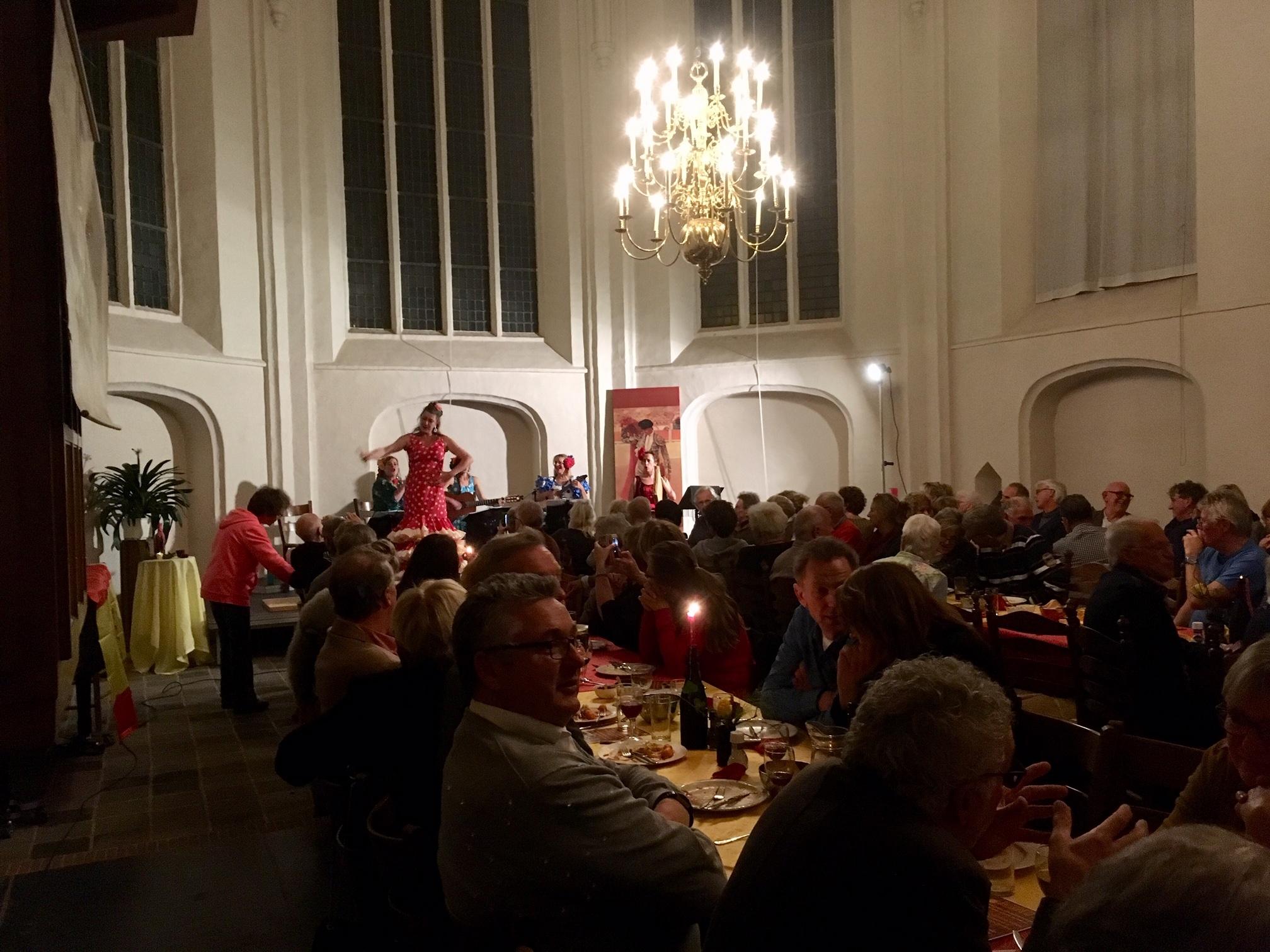 Wilp Staat Op organiseert benefietdiner in Dorpskerk Wilp