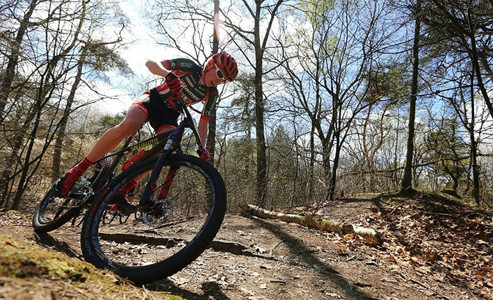 City Mountainbike 'Combinatie van kracht, snelheid en techniek'