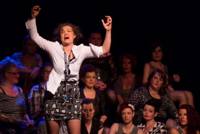 Zingen en acteren bijAnatevka in Concert