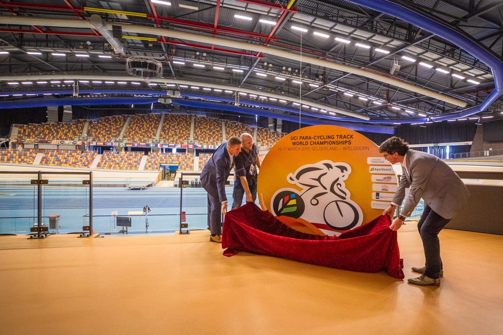 Teun Mulder toernooidirecteur WK Para-baanwielrennen in Apeldoorn