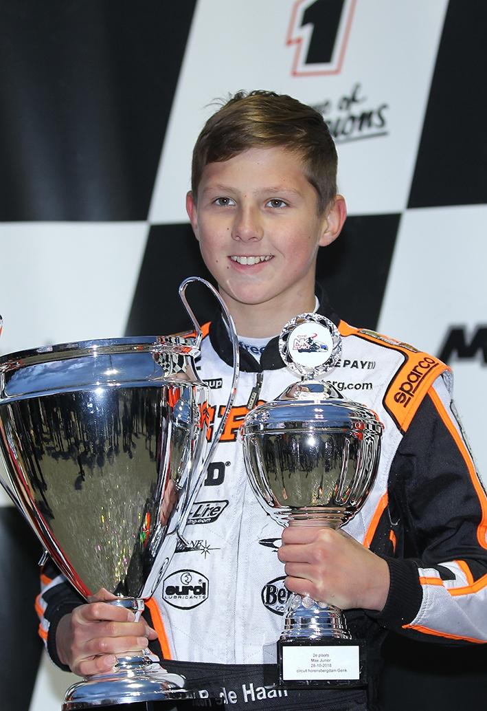 Karttalent beste rookie en vicekampioen bij junioren