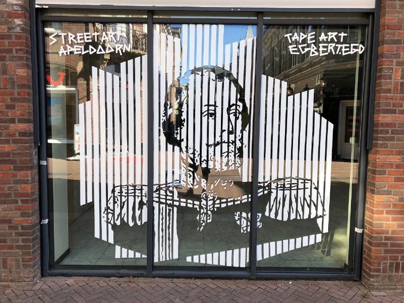 Street Art siert leegstand binnenstad