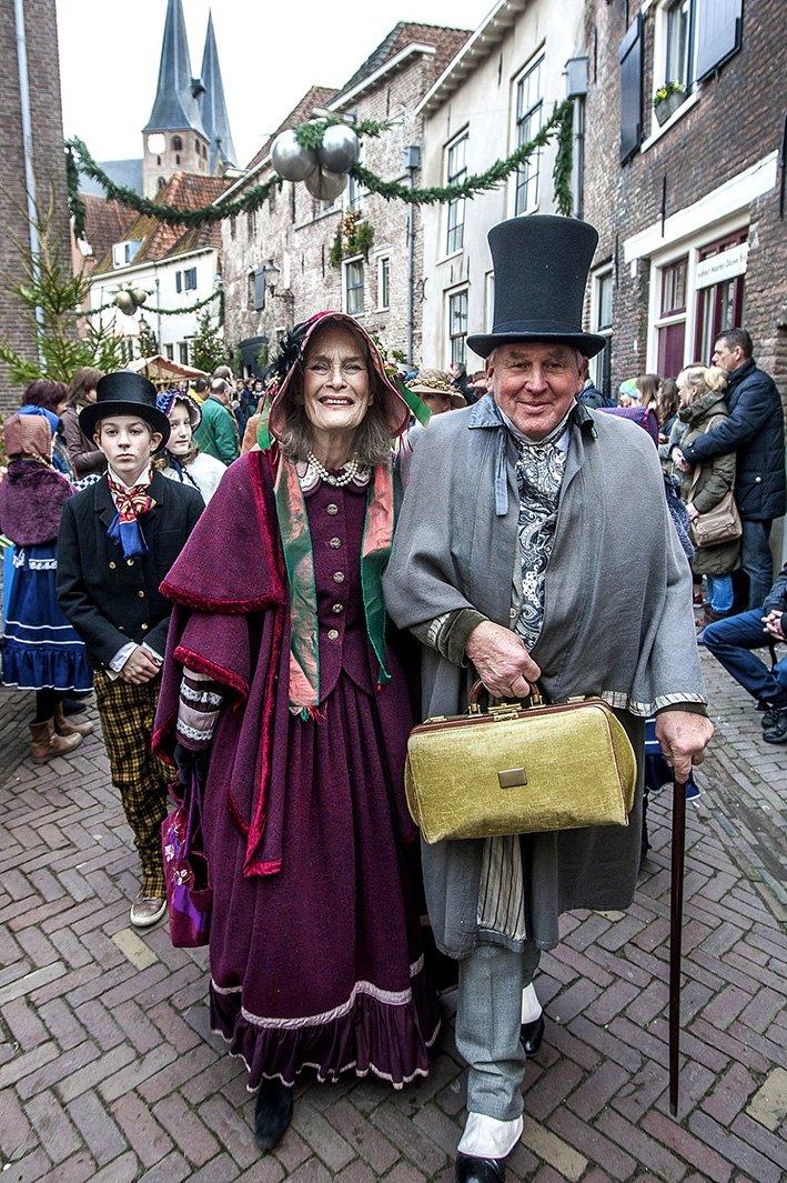 Engelse stad van Charles Dickens herleeft in volle glorie