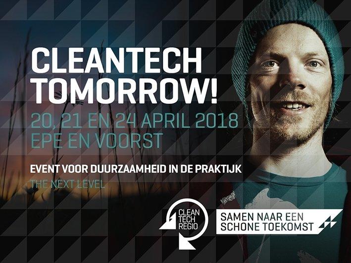Unieke kans voor bedrijven tijdens Cleantech Tomorrow