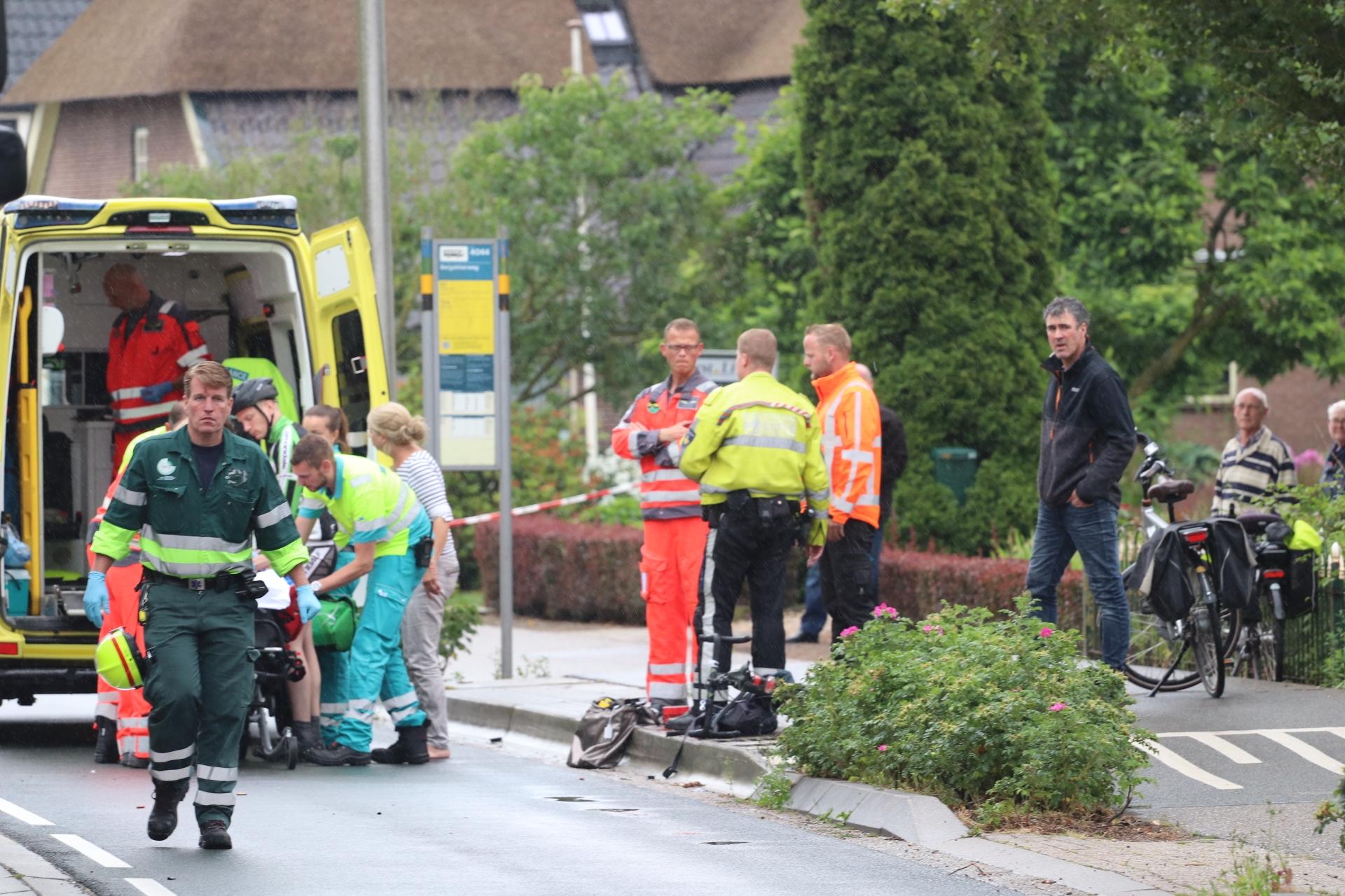 Vrouw zwaargewond na ongeval in Loenen