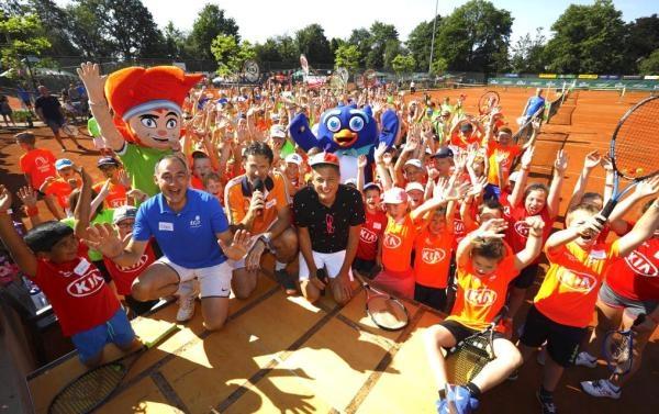Kia Tenniskids competitie feestelijk afgesloten