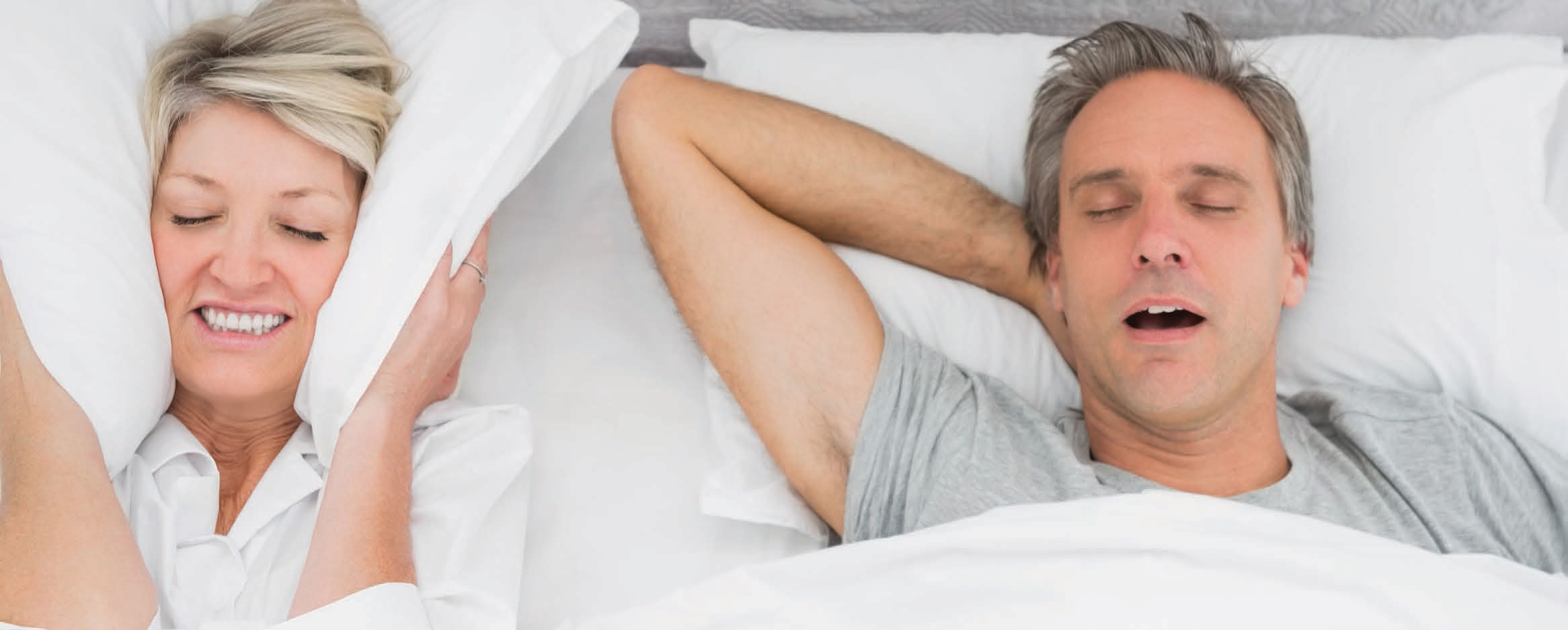 Help, mijn partner snurkt! Wat kan ik doen?