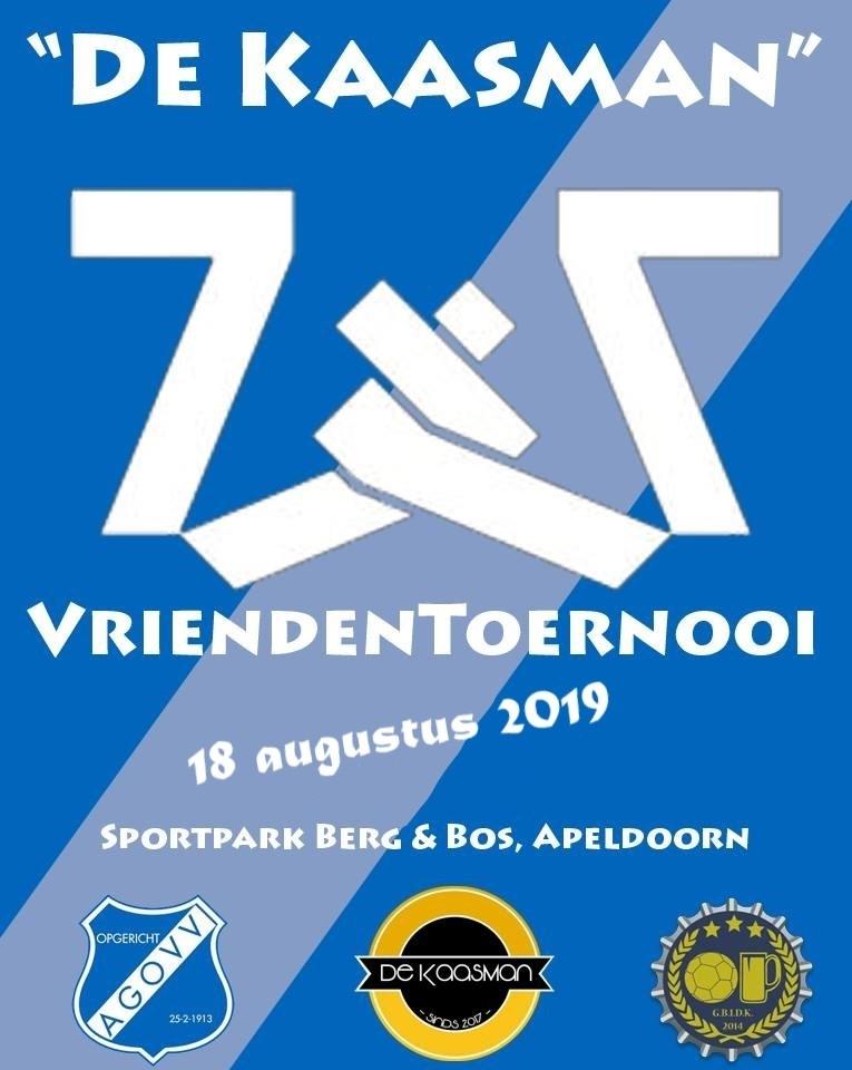 Tweede editie De Kaasman Vriendentoernooi bij AGOVV