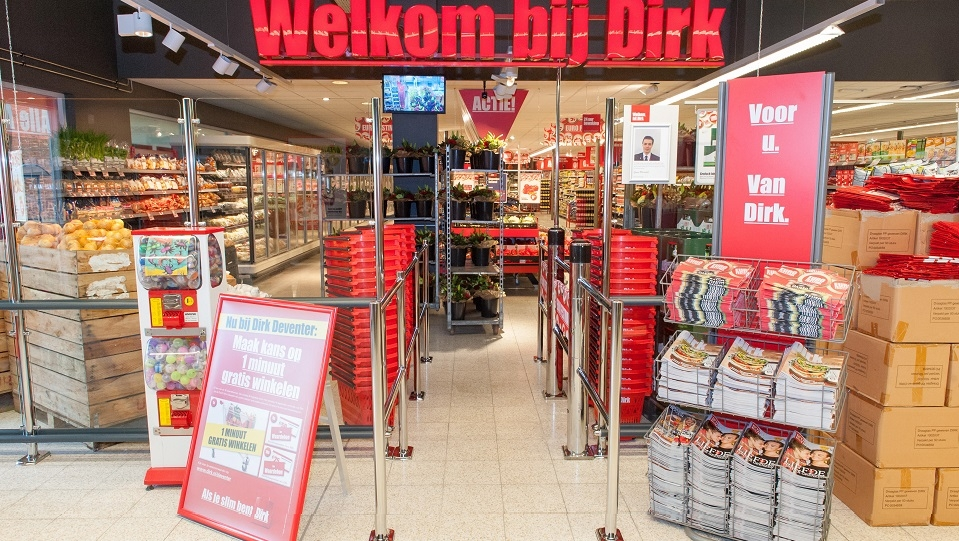Twee grote supermarkten binnenstad gesloten