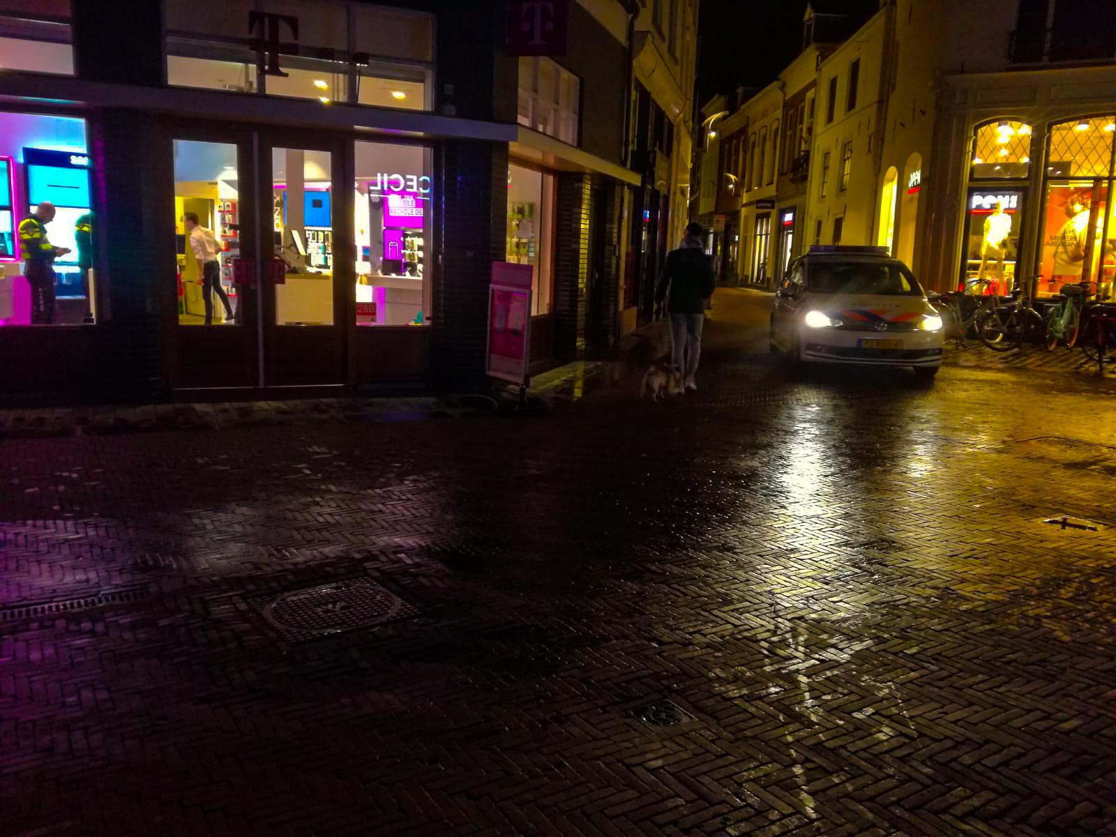 Overval op T Mobile winkel in centrum van Zutphen