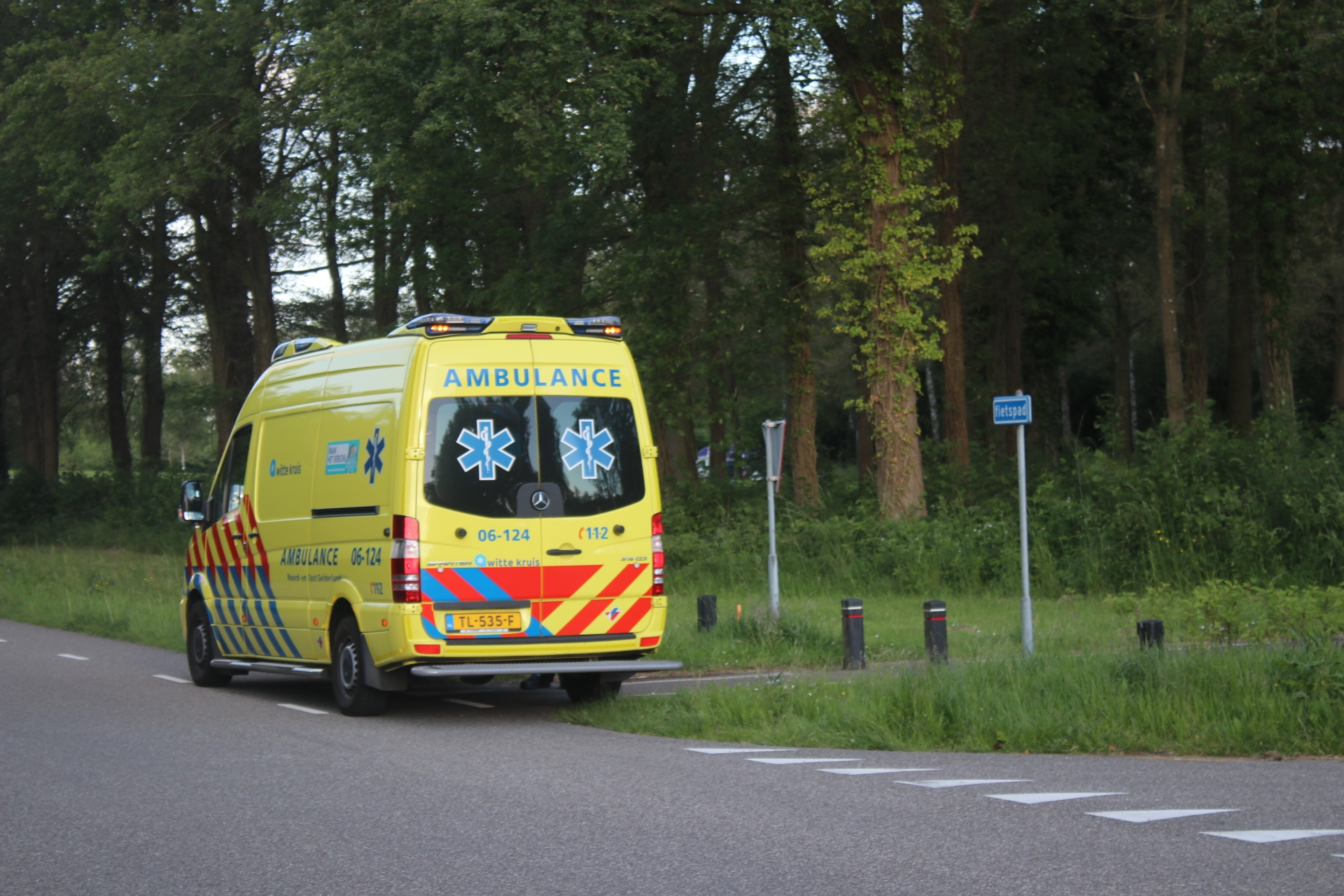 Traumahelikopter gealarmeerd voor incident bij Bussloo in Wilp