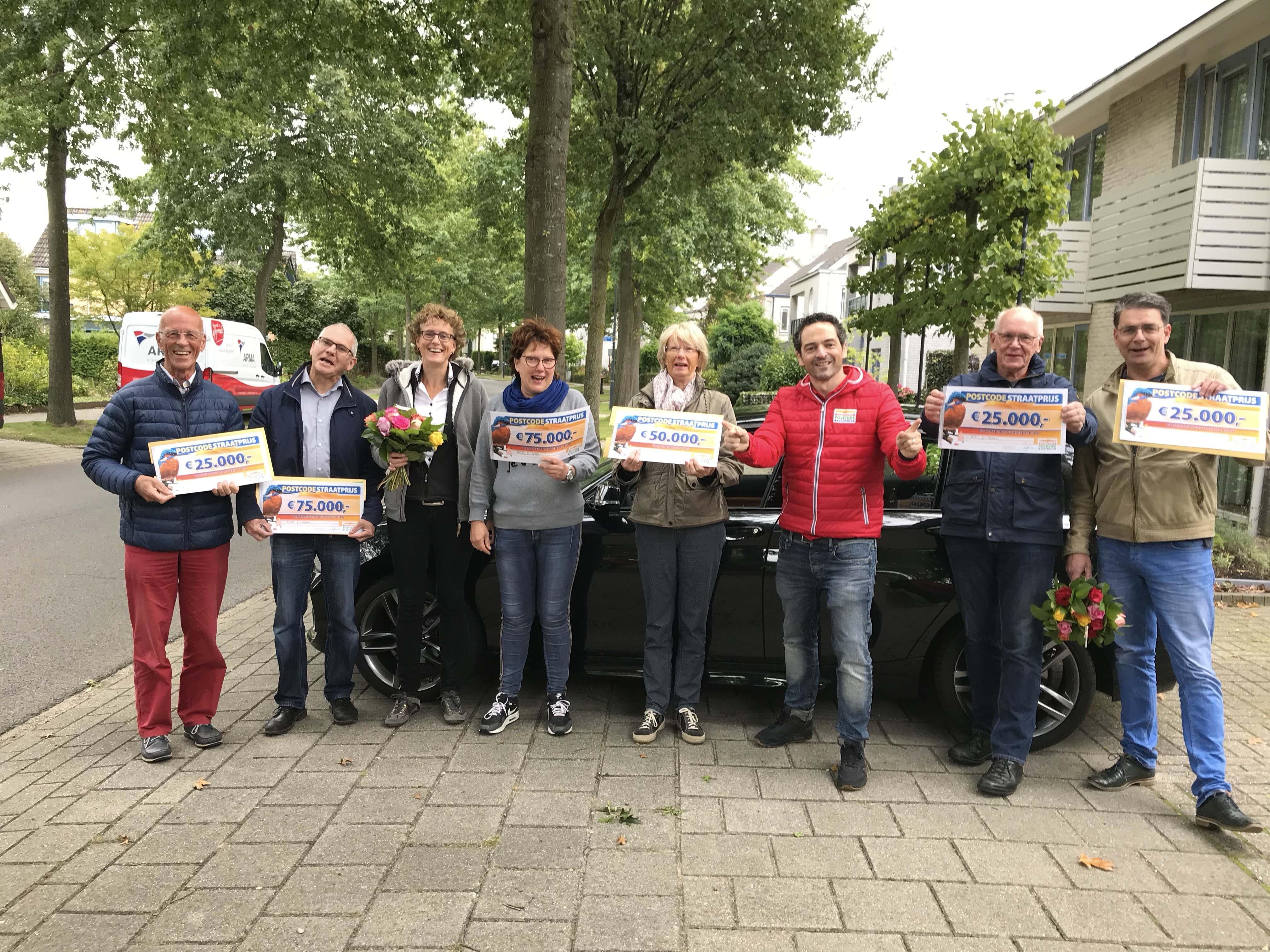 Inwoners Apeldoorn winnen 462.500 euro bij Postcode Loterij